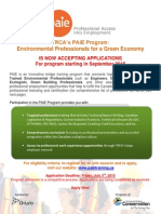 PAIE 2015 Detailed Flyer, 2 Pages