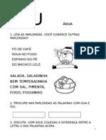 Apostila de Alfabetização Sílabas Vol 2