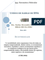 Codigo de Barras DNA Aula