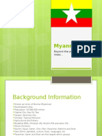 Burma (Myanmar presentation)