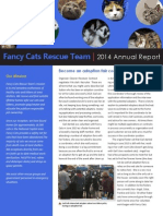 Fancy Cats Annual Report 2014