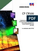 CP CR500 User Manual