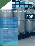 WEG Transformadores a Seco 50038545 00 Catalogo Portugues Br (1)