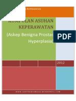 Askep Benigna Prostat Hyperplasia