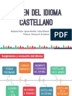 Origen Del Idioma Español