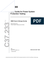 IEEE Guide for Power System Protection Testing