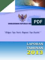 Laporan Tahunan 2013 - Ombudsman Republik Indonesia