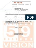 Surat Pernyataan 59 Vision