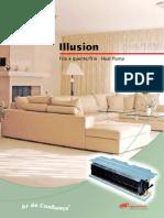 Sistema MiniSplit de Embutir(MCD-SLB001-PB)