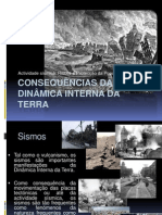 (11) - 2008-2009 - Ciências Naturais - 7º Ano - Consequências da Dinâmica Interna da Terra - Sismos