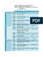 Intensive TOEFL Preparation Program