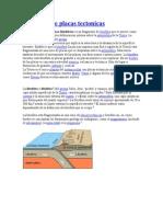 Definicion de Placas Tectonicas