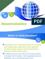 Decentralization 1