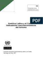 ALyC Indicadores Macroeconomicos en Turismo-CEPAL