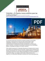 2015 0529 Lombana Colombia Un Destino Menos Atractivo Para Las Multinacionales