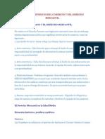Apuntes Historicos Del Comercio y Del Derecho Mercantil