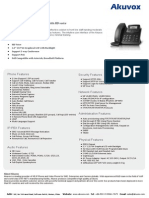 Akuvox Product Datasheet - SP-R50P
