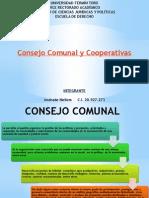 Consejo Comunal y Cooperativas