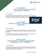 Nuevas Normas de Certificación Abril 2014
