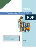 The Basics of Forklift Safety