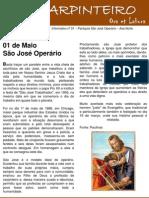 1º Informativo PSJO - O Carpinteiro