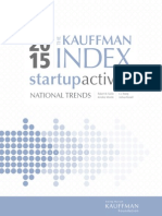 The Kauffman Index 2015
