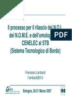 Il processo per il rilascio del N.O.I.,  del N.O.M.E.e dell'omologazione  CENELEC al STB.pdf
