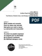 Alive - Spanish