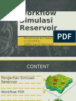 Workflow Simulasi Reservoir
