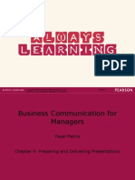 Chapter 9 - Preparing and Delivering Presentations.ppt