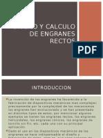 Diseño y Calculo de Engranes Rectos
