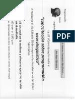 Programa a Desarrollar PNL