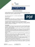 FactoryLink Estructura Del Producto