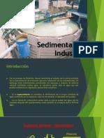 Sedimentación Industrial