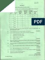 Section I CAPE Unit 1 Past Papers 2005 2007 2010 2011