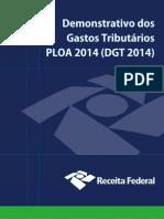 Estudo Bens Tributarios DGT2014