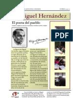 Centenario de Miguel Hernández_ Palabra e Historia_ Trabajos Escolares Breve Biografía