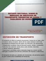 Resultados Estudio Sectorial Transporte Terrestre