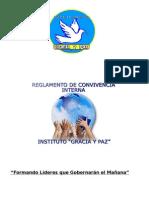 Reglamento de Convivencia Interna 2014 Modf Abril 30