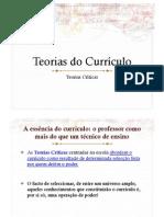 Teorias-criticas e Teorias Tradicionais