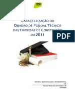 Caracterizacao Quadro Tecnico EmpConstrucao 2011