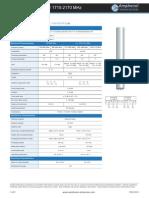 Amphenol - CTBW65806580X - Specifications Sheet