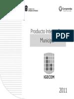 Producto Interno Bruto Municipal 2011
