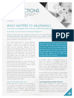 What Matters To Millennials