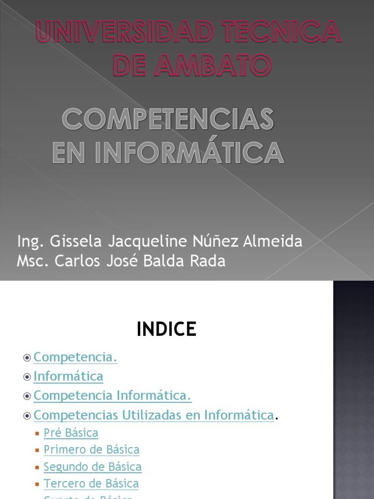Hermosa Habilidades Informáticas Más Reanudación De La Oficina ...