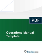 Operations Manual TOC