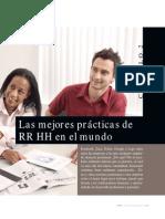 Mejores Practicas de RRHH en El Mundo 2014