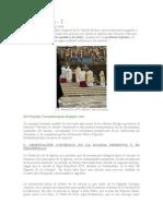 Ad Orientem benedicto revista brasil