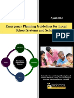 Emergency Planning Guide Shools
