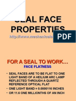 Seal Face Dynamics